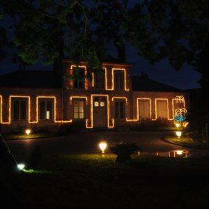 Illuminations de la Mairie de Cravant (45)