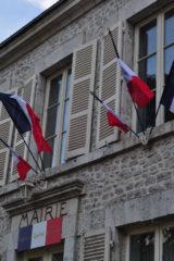Façade de la Mairie de Cravant dans le Loiret (45)