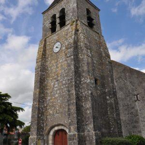 Eglise de Cravant dans le Loiret (45)