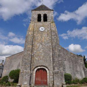 Eglise de la commune de Cravant