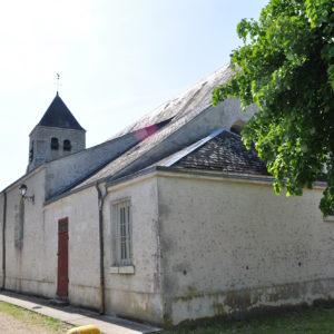 Eglise de la commune de Cravant (45)