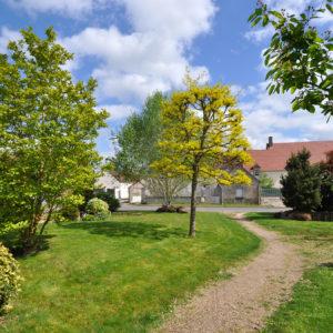 Parc et espace vert à Cravant (45)